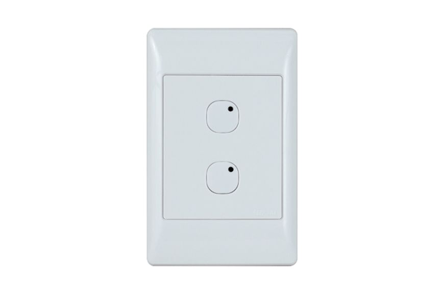 Leviton Omni-Bus 2-Button Wall Switch