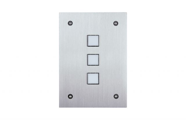 Leviton Omni-Bus 3-Button Wall Switch – White