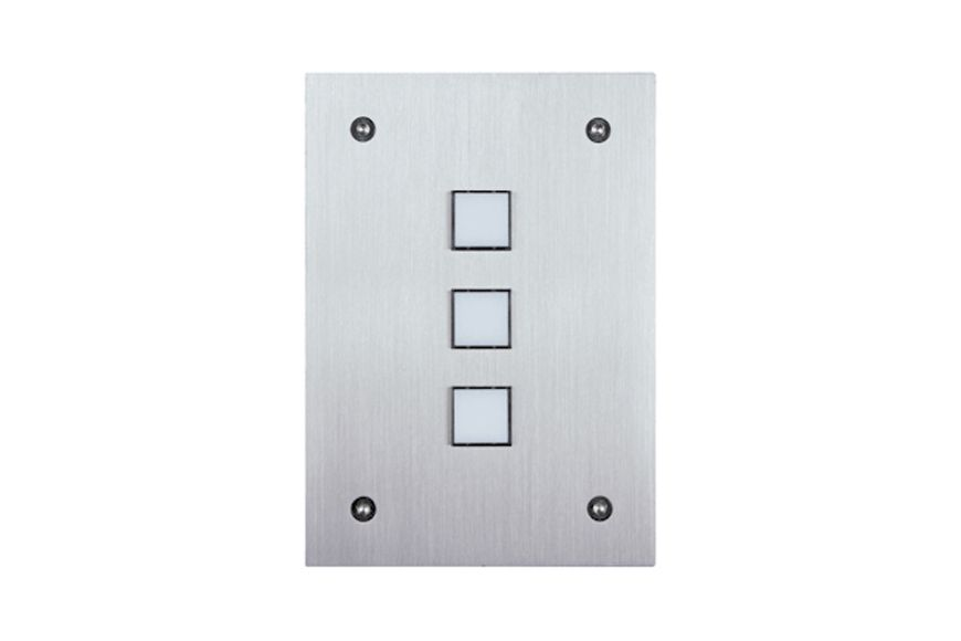 Leviton Omni-Bus 3-Button Wall Switch – White