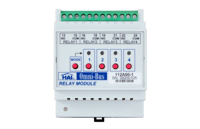Leviton Omni-Bus 4-Channel Relay