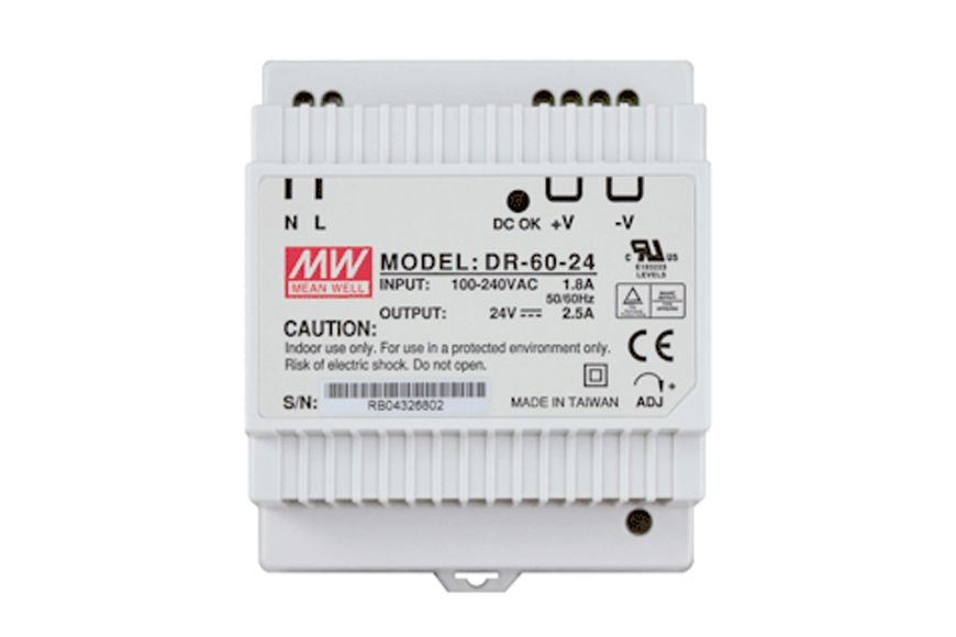 Leviton Omni-Bus P/Supply 2.5A Din Rail