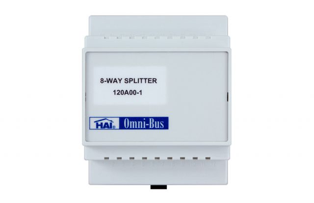 Leviton Omni-Bus Splitter Box 8-Way Din Rail