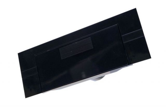 Flush Auto Dustpan Black