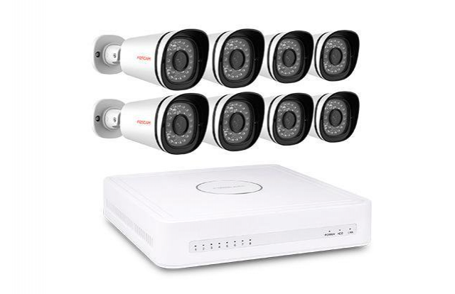 Foscam 8 Channel NVR with 8x 1080P IP Camera & 2TB HDD
