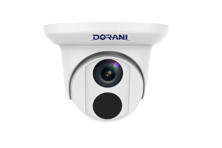 Dorani DORIP01 – 4MP STARLIGHT WDR 2.8mm Fixed Lens Turret Security Camera