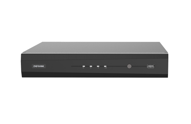 Dorani DORIP10 – 4 Channel 1 HDD NVR with 2TB WD Purple HDD – 4 Ports POE