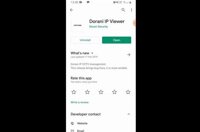 Add Dorani NVR to a Mobile Device