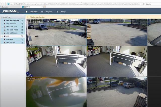 Dorani CCTV Star4Live device management tool