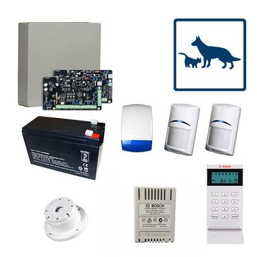 Bosch 2000 Alarm System 2 Pet Tritech Kit